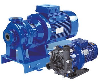 Magnetic Centrifugal Pumps - Plastic