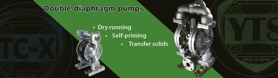 YTS double diaphragm pumps